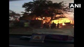 Madhya Pradesh: Fire Breaks Out at Durga Puja Pandal in Chhindwara