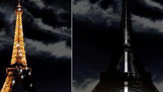 पिट्सबर्ग के यहूदी धर्मस्थल पर हुए हमले के पीड़ितों के सम्मान में एफिल टॉवर की रोशनी बुझाई