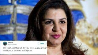Farah Khan's Tweet Against Sajid Khan in The Sexual Harassment Case Makes Twitterati Angry