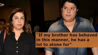 Farah Khan Speaks Out Against Brother Sajid Khan After he Got Accused of Sexual Harassment by Journalists And Actress