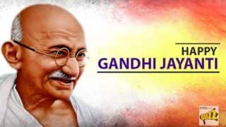 Gandhi Jayanti 2018 Wishes: Here Are Some Messages You Can Send on Mahatma Gandhi's Birth Anniversary