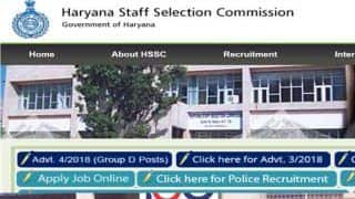 Haryana Staff Selection Commission to Release HSSC Group D Admit Card Today, Check at hssc.gov.in