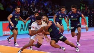 Pro Kabaddi League 2018, Match 21: Haryana Steelers End Home Leg With Win Over Dabang Delhi KC