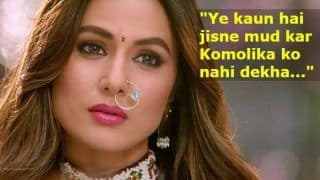 Hina Khan Reveals How Bigg Boss 11 Probably Helped Her Bag Komolika's Role in Kasautii Zindagii Kay