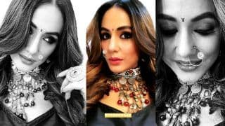 Hina Khan Shares New Pictures of Komolika From Sets of Kasautii Zindagii Kay Looking All Sexy And Stunning