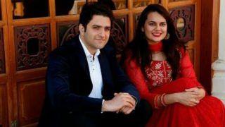 जब लाल रंग का सूट पहनकर तैयारी हुईं IAS टीना डाबी, देख ये बोले अतहर आमिर...