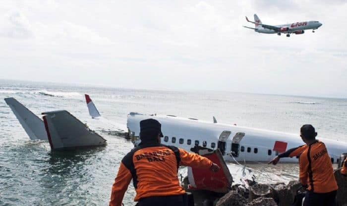 Image result for Indonesian Lion Air plane crashes into sea with 188 passengers
