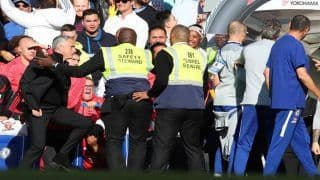 Jose Mourinho Fight: Manchester United Boss Involved in Brawl After Chelsea's Goal--Watch Video