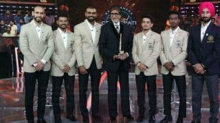 809244118e3 KBC 2018 Season 10 Karamveer Episode: Indian National Hockey Team Plays The  Game And Wins