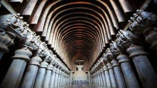 The Karla And Bhaja Caves in Maharashtra Are Examples of Fine Buddhist Architecture in India