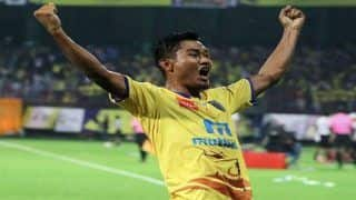 ISL-5: Bhumij's Strike Late to Rescue a Point For Mumbai City Against Kerala Blasters