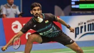 Denmark Open Badminton 2019 Day 2 HIGHLIGHTS: Kidambi Srikanth Crashes Out, Loses 14-21, 18-21 in Round 1 vs Anders Antonsen