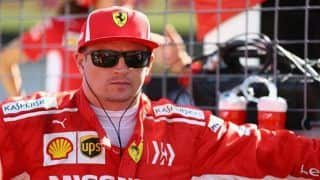F1: Kimi Raikkonen Delays Lewis Hamilton's Title Charge, Wins US Grand Prix; Sebastian Vettel Finishes Fourth