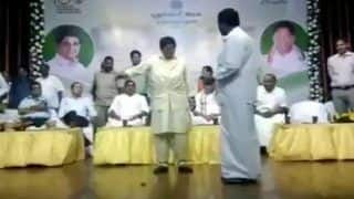 Puducherry MLA Gets Into an Ugly Spat With L-G Kiran Bedi After She Asked Him to Wrap Speech - Watch Video
