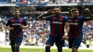 Real Madrid's Misery Run Continue in Cristiano Ronaldo's Absence, Stunned 2-1 by Minnows Levante