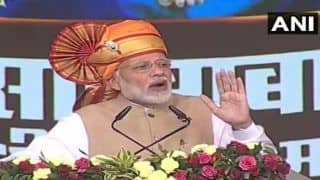 Narendra Modi in Shirdi: PM Hands Over Keys of Houses to 2.50 Lakh PMAY Beneficiaries, Accuses UPA Govt of Promoting 'One Family'
