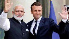 कोरोना वायरस के 'इलाज और टीके' के लिए पीएम मोदी ने की फ्रांस के राष्ट्रपति से बात