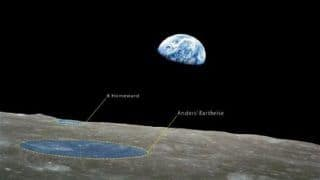 Two Lunar Craters Named to Mark 50th Anniversary of Apollo 8
