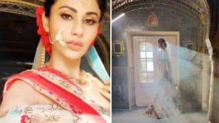 Naagin Hotness Mouni Roy Looks Drop-dead Gorgeous in Bridal Avatar - See Picture