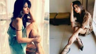 Naagin Sizzler Mouni Roy Looks Sensuously Hot in Blue Short Dress - See Pictures