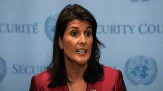 भारतीय मूल की निक्की हेली ने यूएन में अमेरिकी राजदूत के पद से इस्तीफा दिया, ट्रंप ने किया मंजूर