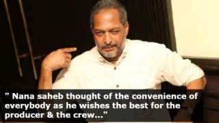 Nana Patekar Backs Out of Housefull 4 Following Sexual Harassment Allegations From Tanushree Dutta, Releases an Official Statement