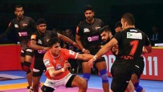 Pro Kabaddi League 2018: Nitin Tomar Shines as Puneri Paltan Hold U Mumba to 32-32 Draw