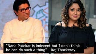 #MeToo: Raj Thackeray Speaks Out in Support of Nana Patekar in The Tanushree Dutta Sexual Harassment Case