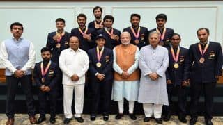 PM Narendra Modi And Sports Minister Rajyavardhan Singh Rathore Eulogise Para Athletes at Awards Function, Call Them 'True Icons'