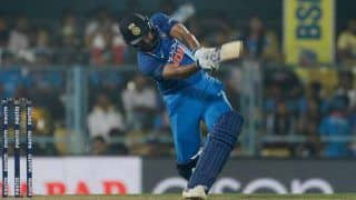 India vs West Indies 5th ODI Thiruvananthapuram: Rohit Sharma Needs Two Sixes to Join MS Dhoni in Elite List