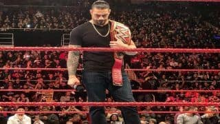 WWE Universal Champion Roman Reigns Quits, Gives up Title in Monday Night RAW Due to Leukaemia Cancer | WATCH VIDEO