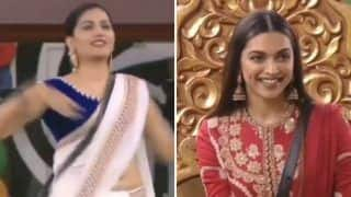 Haryanvi Hottie Sapna Choudhary Flaunts Her Sexy Thumkas on Tere Nain Nashile For Deepika Padukone In this Throwback Bigg Boss Video - Watch