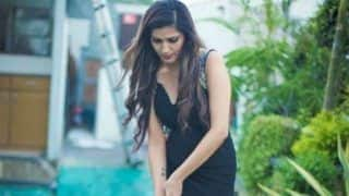Haryanvi Sizzler Sapna Choudhary Looks Uber Hot in Black Gown as She Strikes a Pose While Playing Mini Golf - See Picture