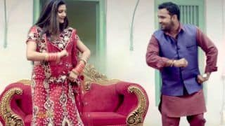 Haryanvi Sizzler Sapna Choudhary Song Chand Mera Featuring Her in Bridal Avatar Goes Viral; Clocks Over 90 Million Views on YouTube - Watch