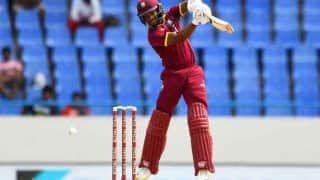 INDvsWI: जीत से चूकी टीम इंडिया, शाई होप ने मैच करवाया टाई