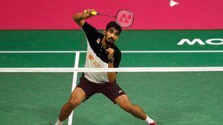 Badminton: India's Badminton Ace Kidambi Srikanth Set to Take on Legendary Lin Dan at Denmark Open 2018