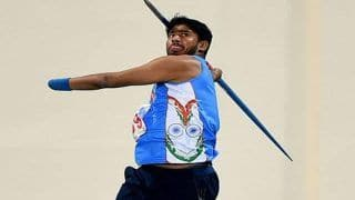 Asian Para Games 2018: Javelin Thrower Sundar Singh Gurjar Wins Silver, Devendra Jhajharia Disappoints, India's Medal Tally Swells to 40 in Para Games