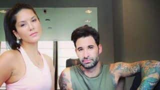 Sunny Leone Looks Hot AF as She Strikes a Pose With Husband Daniel Weber Just After Workout Session - See Picture