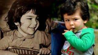 Saif Ali Khan's Childhood Picture Goes Viral Because he Looks Like Son Taimur Ali Khan in it; See Photo