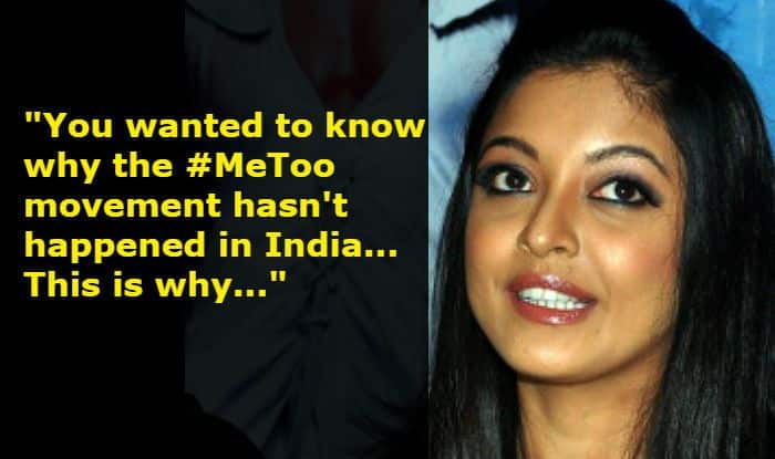 Defamation Case Filed Against Tanushree Dutta for MNS Comment