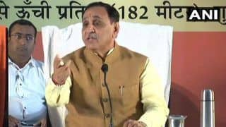 Congress' Efforts to Incite Violence in State Have Failed, Says Gujarat Chief Minister Vijay Rupani