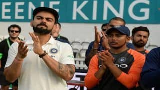 India vs West Indies, 1st Test at Rajkot: Captain Virat Kohli Says Promises Enough Space to Youngsters Like Prithvi Shaw, Rishabh Pant and Mayank Agarwal