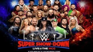 WWE Super Show-Down 2018: Live Streaming, Preview, Match Cards, When And Where to Watch in India