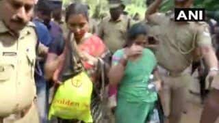 Sabarimala Temple Row: Two Andhra Pradesh Women Stopped Midway Towards Shrine; Protests Continue