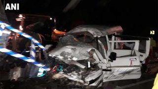 ट्रक-बोलेरो की टक्कर में बीजेपी मंडल अध्यक्ष समेत 10 लोगों की मौत