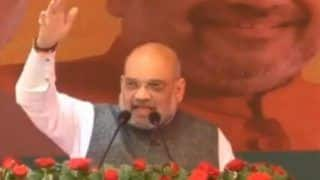 Mumbai: Amit Shah Arrives, Holds Meeting BJP Leaders