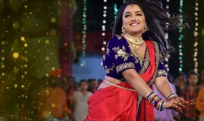 Bhojpuri Hot Actress Amrapali Dubey's Sexy Belly Dance in Chicken Biryani Champa Ki Jawani is Trending, Crosses 2.7 Million Views on YouTube- Watch