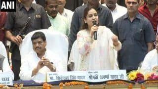 Samajwadi Party Split: Family Feud Out in Open Again, Daughter-in-law Aparna Yadav Announces Support to Uncle Shivpal Yadav