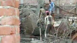 Uttar Pradesh: One Dead, 14 Rescued as Under-construction Building Collapses in Shahjahanpur; Several Feared Trapped
