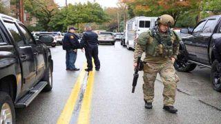 यहूदी प्रार्थना स्थल पर गोलीबारी में 11 लोगों की मौत, हमलावर गिरफ्तार